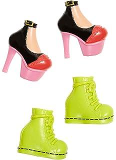 BRATZ DOLL Shoefiesnaps Lot of 6 Pairs Shoes Heels Boots Athletic 2015 MGA