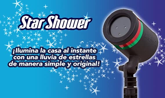 STAR SHOWER - Anunciado en TV ¡Una manera simple y original de ...