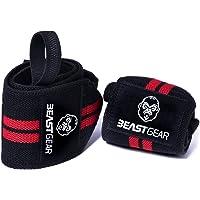 Beast Gear Polsbandage, 2 x polssteunen/polswraps voor sport, fitness en bodybuilding, stabiliserend en beschermend, ook…