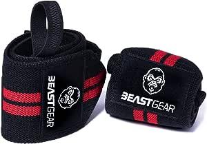 Muñequeras Deportivas Beast Gear – Muñequeras Resistentes para ...