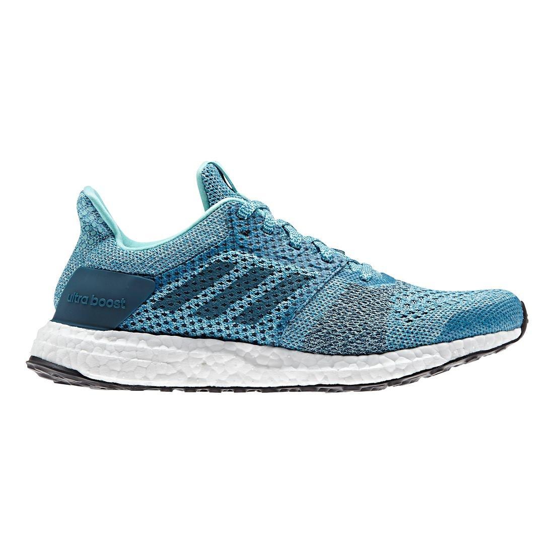 Aqua Silver Adidas Womens Ultraboost ST Running shoes