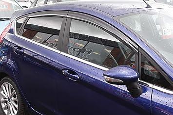 Autoclover, set deflettori d'aria per Ford Fiesta MK7 2009-2017, 5