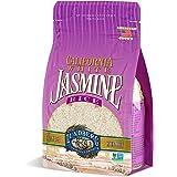 Lundberg Farms Eco-Farmed Jasmine White Rice, Gluten Free, 32 Ounce (1615-6pack)