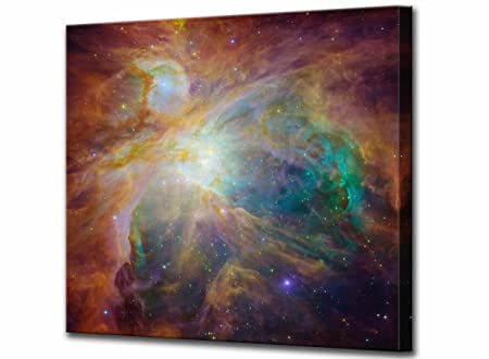 the orion nebula canvas print hubble space telescope large high