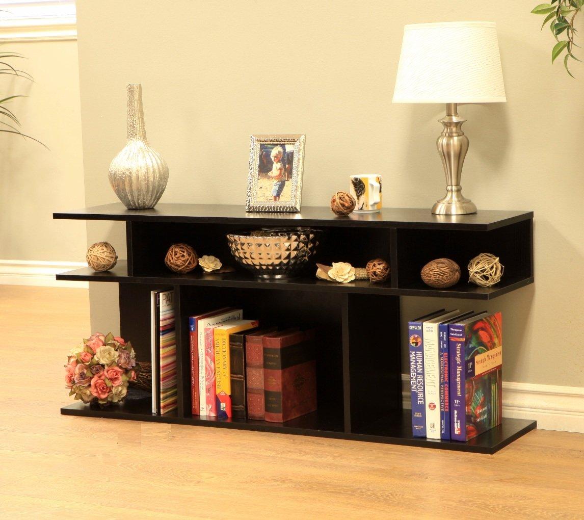 Frenchi Home Furnishing Wood/Console Sofa Table, Black by Frenchi Home Furnishing (Image #1)