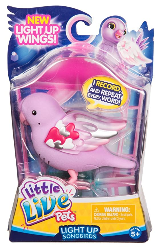 Little Live Pets Season 8 Bird Single Pack - Heart Beams