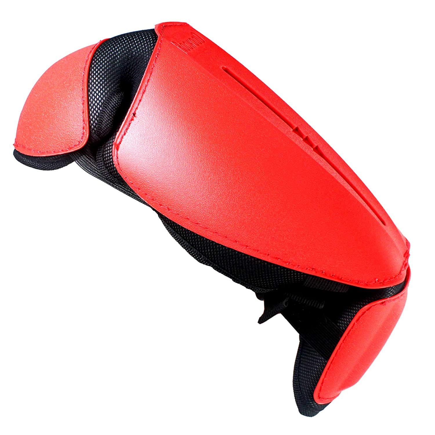 One Size, Red SPARES2GO Knee /& Shin Guards for Chainsaw
