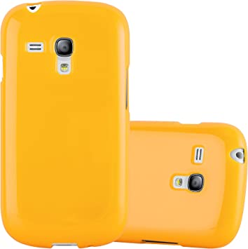 Cadorabo Funda para Samsung Galaxy S3 Mini en Jelly Amarillo: Amazon.es: Electrónica