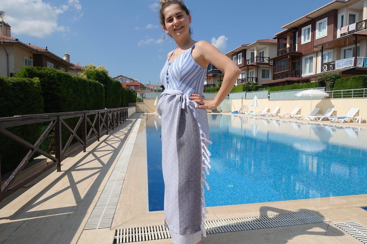 Set of 4 - New Season BRIGHTEST Diamond Weave Turkish Cotton Bath Beach Hammam Fouta Towel Sheet Peshtemal Blanket