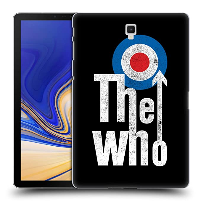 lowest price 27149 33ba7 Amazon.com: Official The Who Classic Target Logo Band Art Hard Back ...