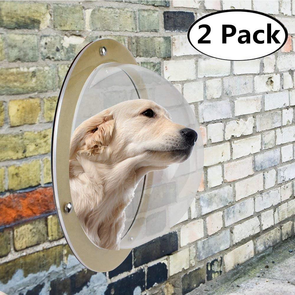 Muswanna Pack de 2 campanas para perro, valla para perro, valla ...