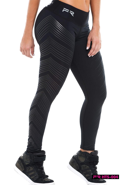 Amazon.com: Fiber Leggings Colombian Yoga Pants Compression ...