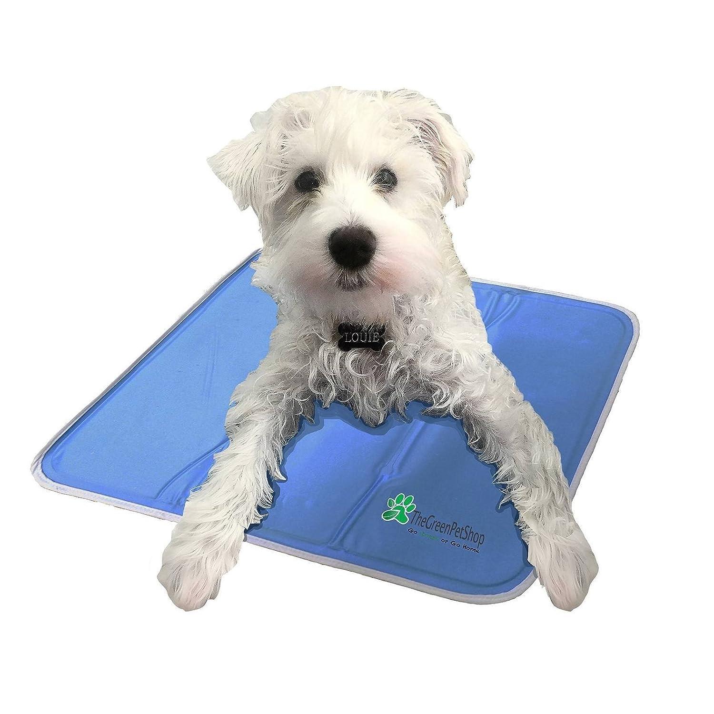 amazon com the green pet shop self cooling pet pad medium pet