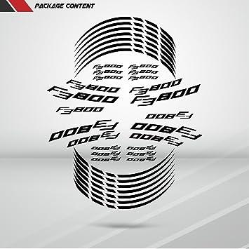 2 Tono Ametista Ruote Moto Cerchione Decalcomanie Accessorio Adesivi per MV Agusta F3 800