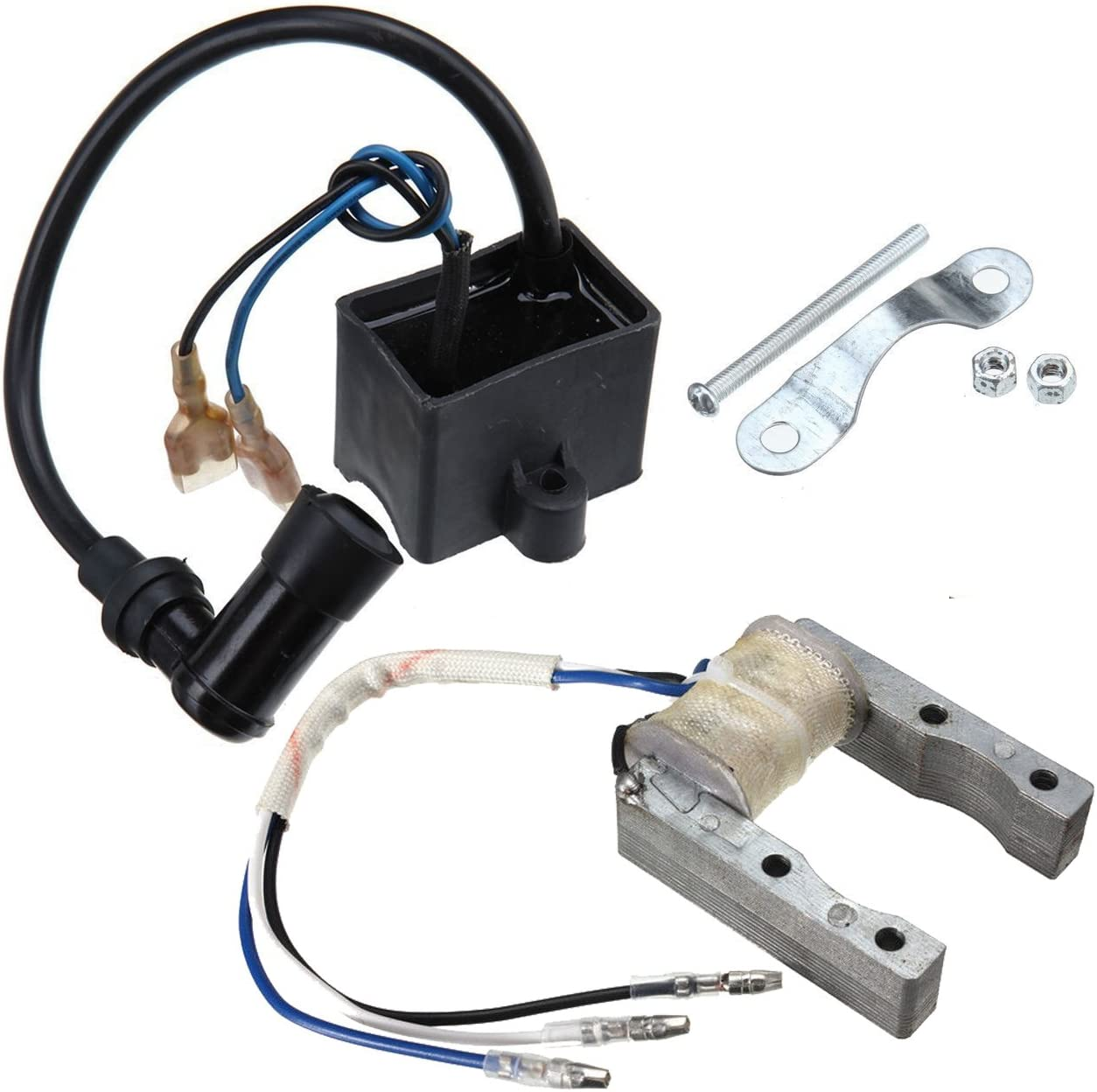 Ignition Coil CDI For 50cc 60 66 80cc 2Stroke Engine Motorized Bicycle Push Bike