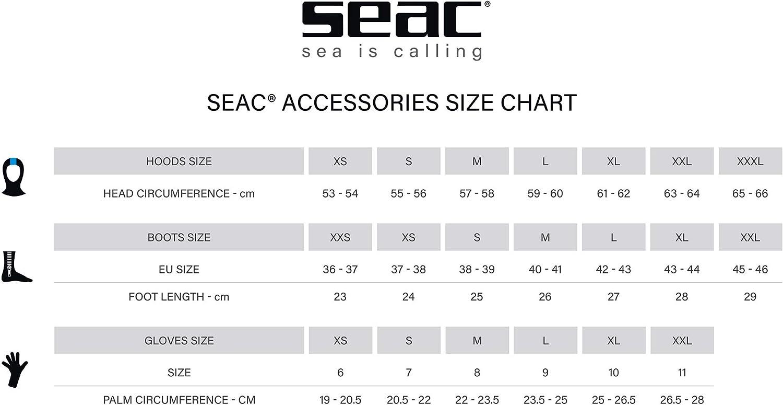 Boot covers Sub SEAC Anatomic HD 7 MM