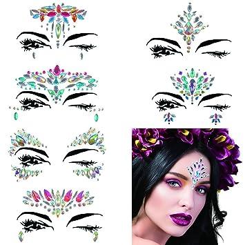 Amazon.com   Mermaid Face Gems Glitter 685ddcb48f43