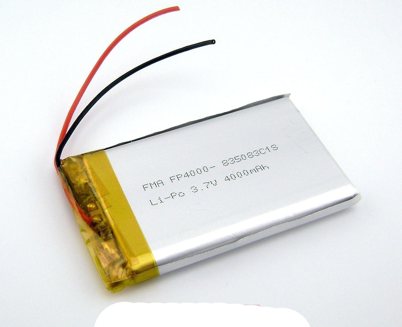 3.7 V 4000 mAh LiPoバッテリーDIYのポータブル電源銀行