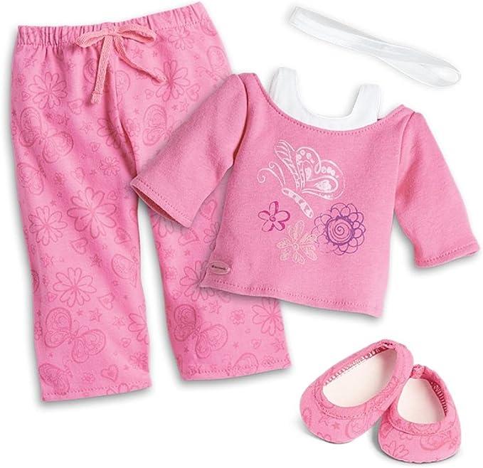 American Girl Truly Me Pijama rosa en bolsa para ... - Amazon.es