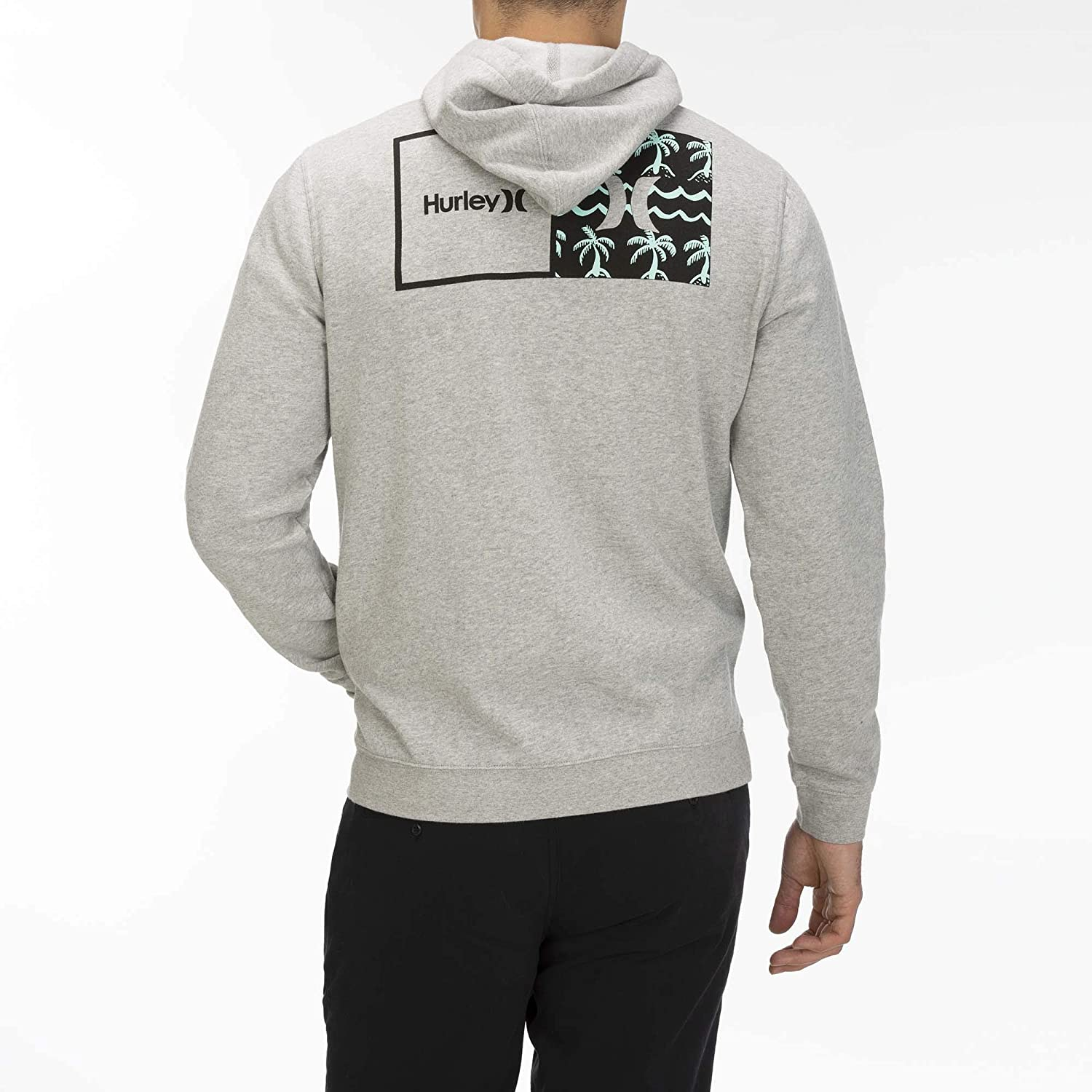 Hurley M Natural Full Zip Grey Htr