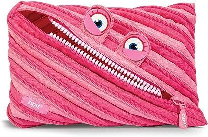Zipit Trousses /à Crayons - ZTMJ-Se-7 Black /& Rainbow Teeth Noir