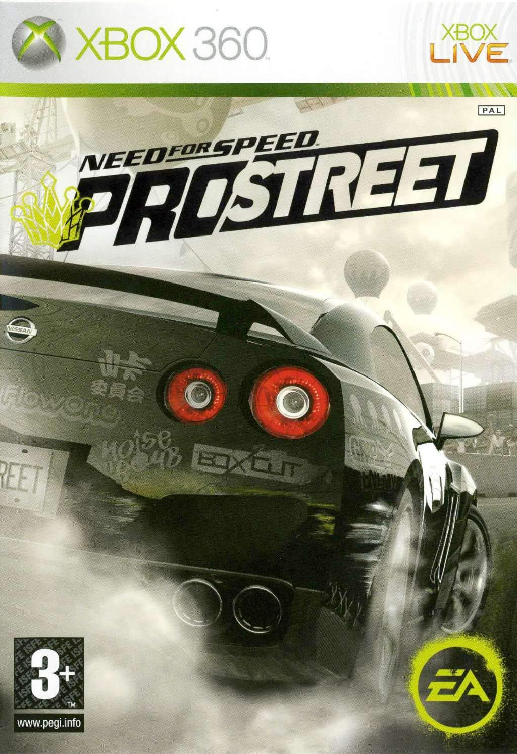 Need For Speed: Prostreet - Xbox 360: Xbox 360: Computer and