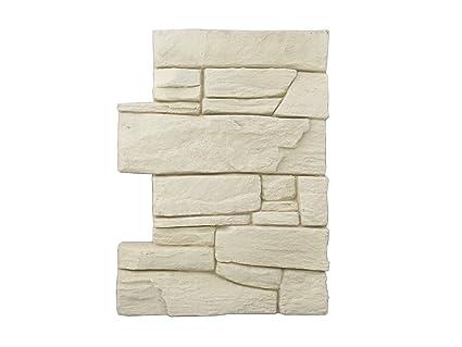 Revestimiento mural en piedra óptica para cocina - terraza - dormitorio - salón | Paneles para