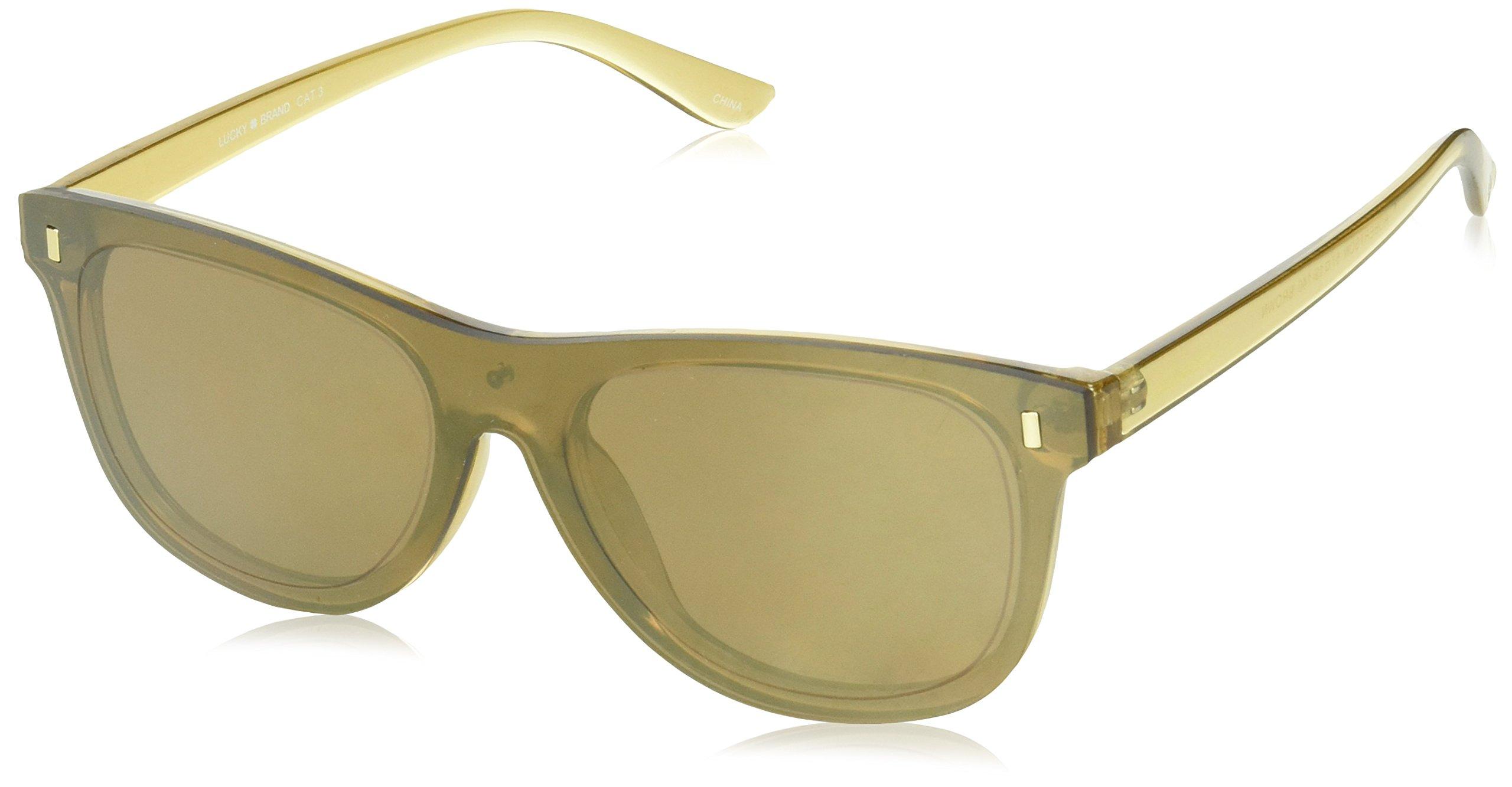 Lucky Robrbro57 Cateye Sunglasses, Brown, 57 mm