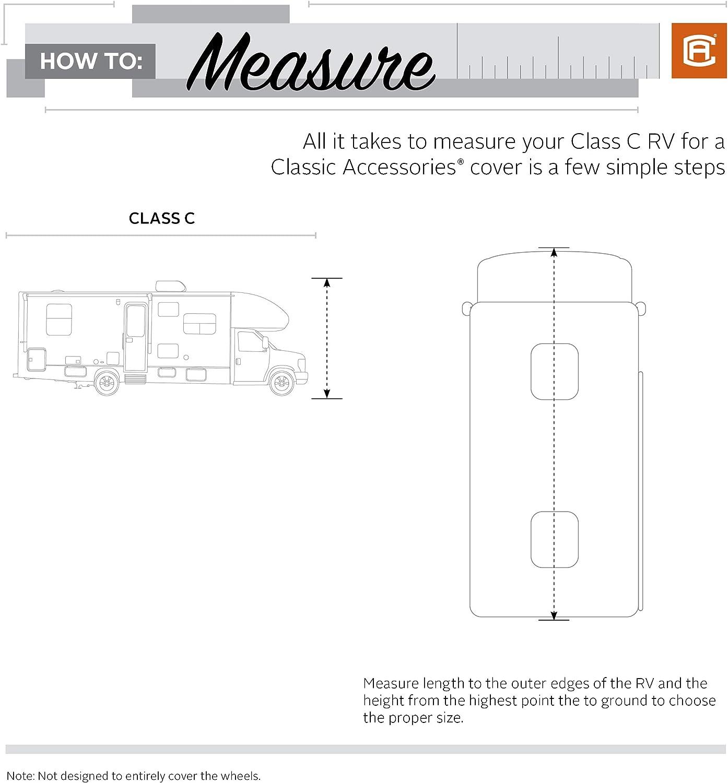 For 35-38 L Classic Accessories SkyShield Heavy Duty RV Class C Cover 135 Max H