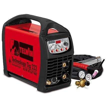 Telwin Technology TIG 222 AC/DC HF/Lift vrd Pulse Wig de schw Hielo