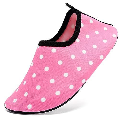 01757a9a94d1 CIOR Mutifunctional Barefoot Kids Quick-Dry Water Shoes Lightweight Aqua  Socks for Beach Pool Surf