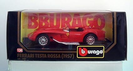 Amazoncom Ferrari 250 Testa Rossa 1957 Diecast By Burago