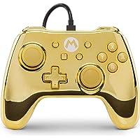 Manette pour Nintendo Switch - Chrome Gold Mario