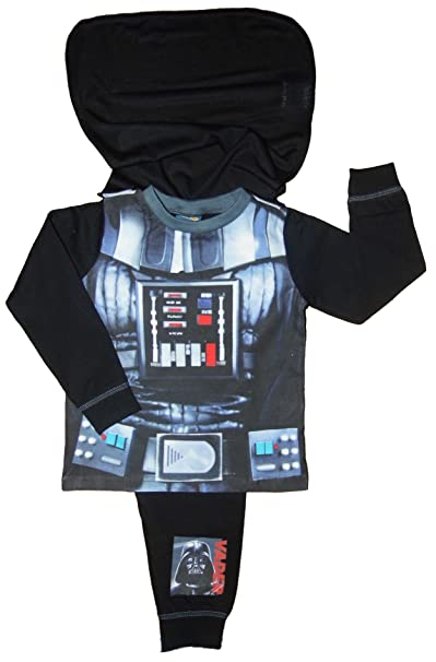 Star Wars Pijama entero - para bebé niño Negro Darth Vader