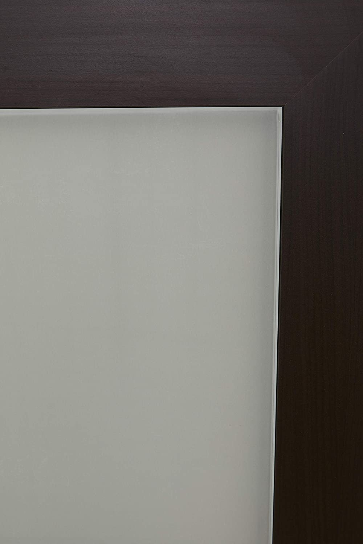 Glaseinlage Alfa-Tische M2068 Couchtisch Roma 100 x 65 x 42 cm Eiche Milano Dekor Ausf/ührung Rechteck