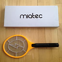 Amazon.com : Electric Bug Zapper, Miatec Fly Swatter Racket ...