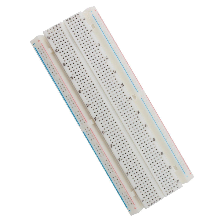bb830 solderless plug in breadboard 830 tie points 4 amazonde