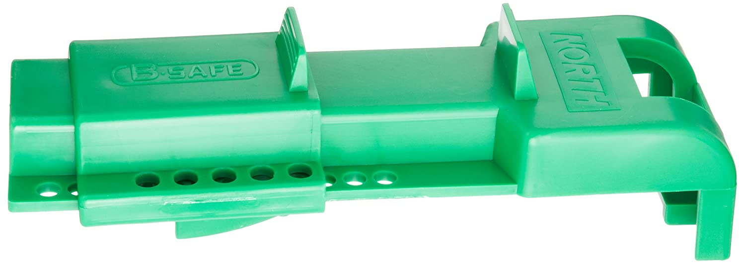 North Safety B-Safe Universal Butterfly Valve Lockout, Green (Pack of 1)