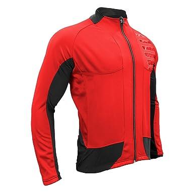 a08440591 Amazon.com  Urban Cycling Reflector Winter Softshell Thermal Jersey Jacket   Clothing