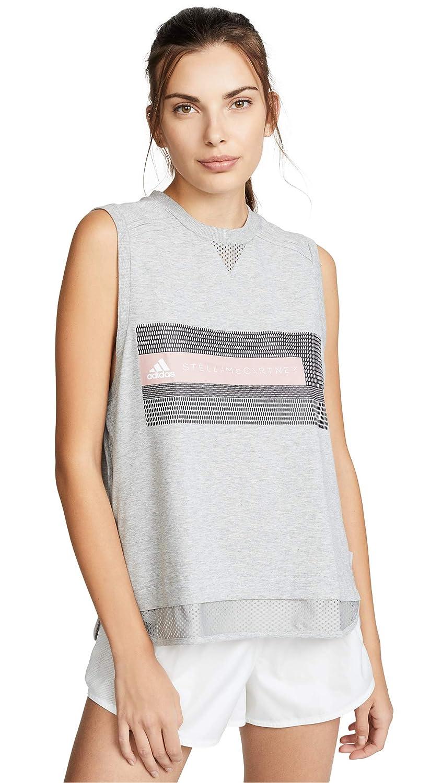Medium Grey Heather Adidas by Stella McCartney Women's Logo Tank DT9230