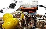 Xunda Stainless Steel Tea Leaves Scoop,2 In 1