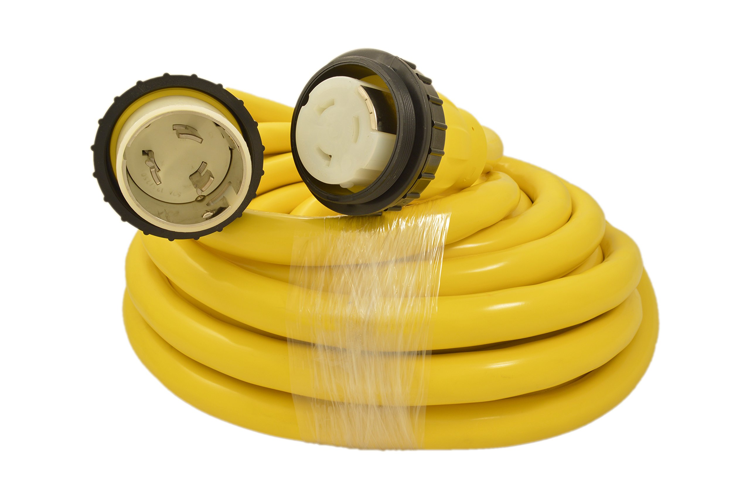 (50 Amp - 50 ft) Marine/Shore Power Cord (7727) by High Tide Marine Cords