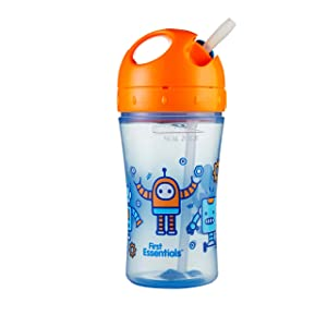 First Essentials by NUK Fun Grips Soft Spout Trainer Cup, 7 oz.