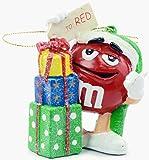 Kurt Adler M&ms Blow Mold Ornaments Set of 4