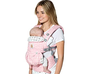 a8ccb0e199 Amazon.com   Ergobaby X Hello Kitty Omni 360 Baby Carrier  Play Time   Baby