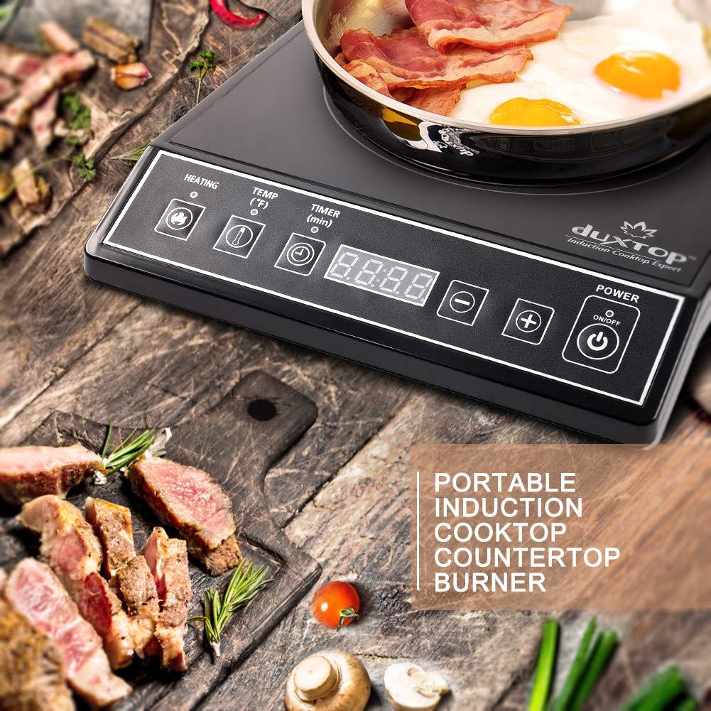 Secura 1800-Watt Portable Induction Cooktop Countertop Burner 9100MC, Black by Secura (Image #6)