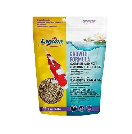 Laguna Growth Enhancing Goldfish & Koi Floating Food, ...