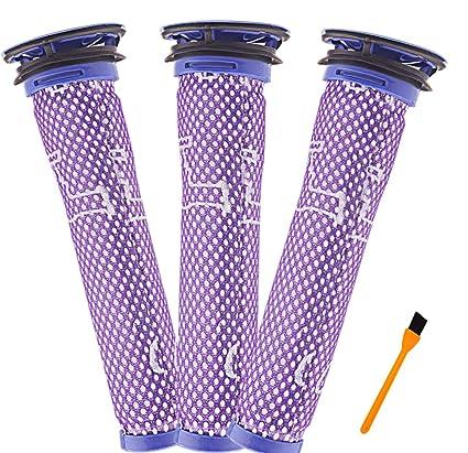 Image of: Stick Vacuum Hongfa Filter Pack Replacement Dyson V6 V7 V8 Dc58 Dc59 Dc61 Dc62 Pre Motor Filter Amazoncom Amazoncom Hongfa Filter Pack Replacement Dyson V6 V7 V8 Dc58