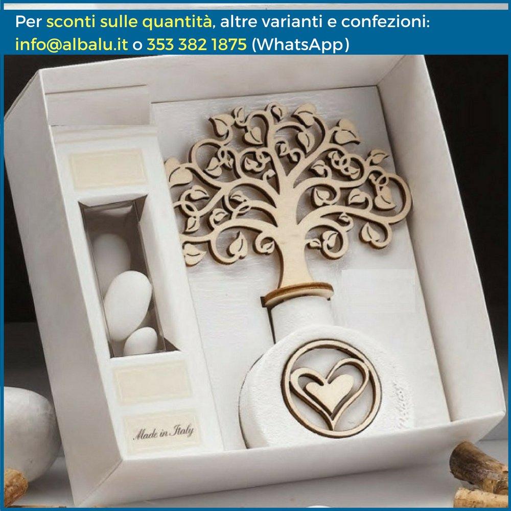 Bomboniere Profumatore Albero della vita Ginevra (Scatola Bomboniera Inclusa) Albalù Italia