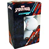 Marvel Spider Man Golf Balls 6-Pack White